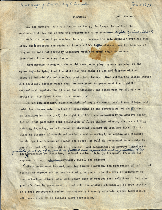 Original Typed Draft of the Hospers Statement of Principles (2017 scan).png