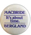 Button MacBride-Bergland It's-About-Time.png