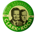 Clark koch campaign button 1980-2.png