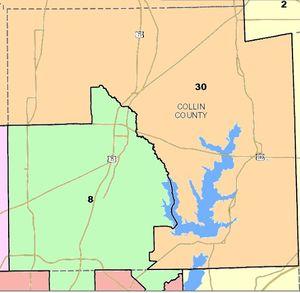 Map Of Texas Senate Districts.Texas Senate District 8 Lpedia